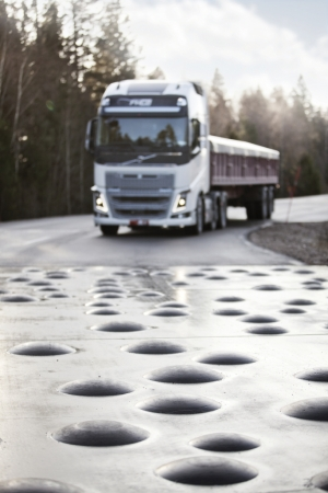 Volvo FH hallered proving+ground